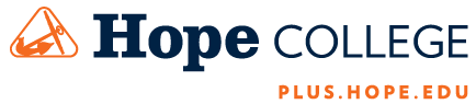 Hope College PLUS.HOPE.EDU logo
